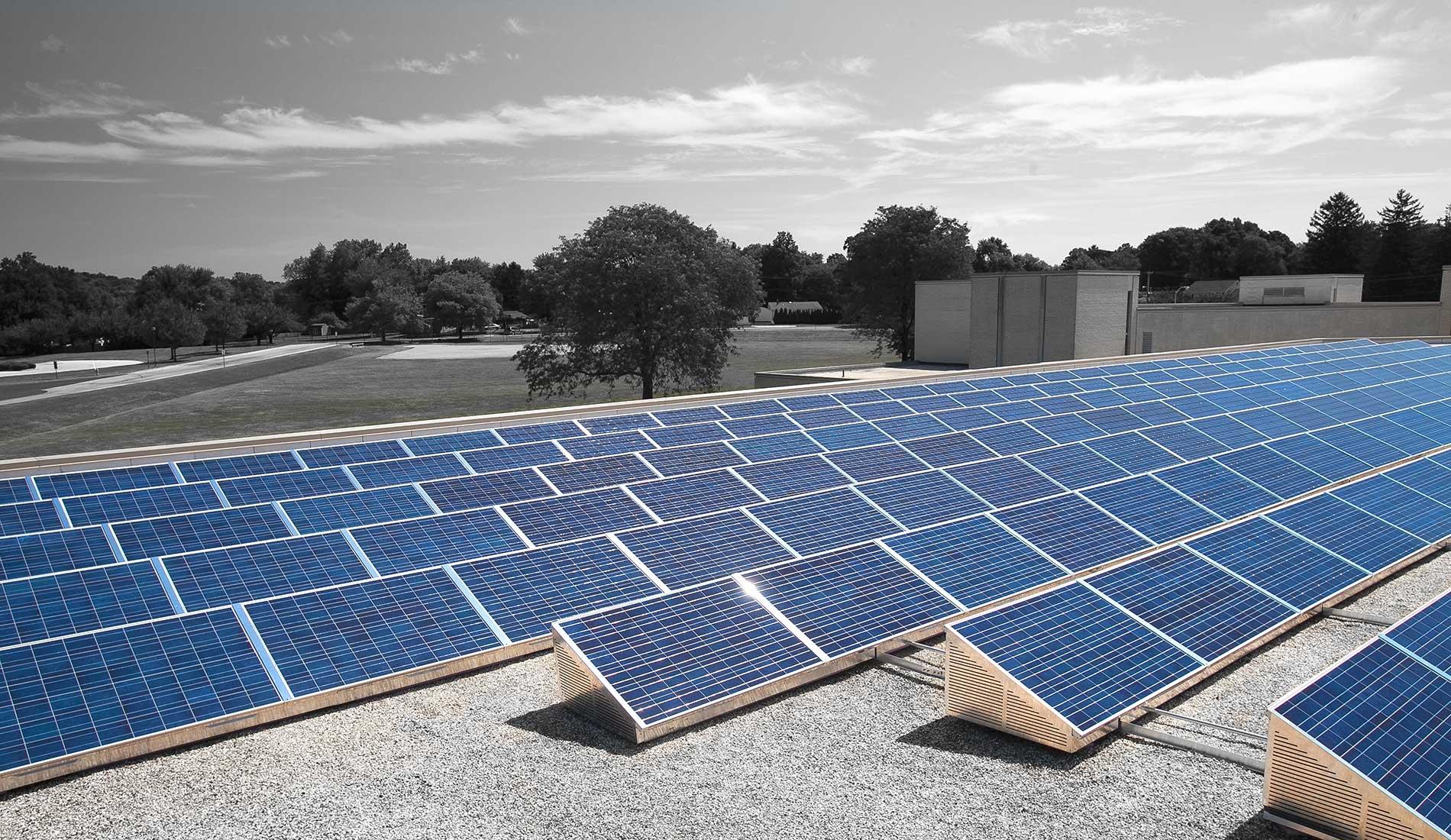 SolarDock solar panel installation